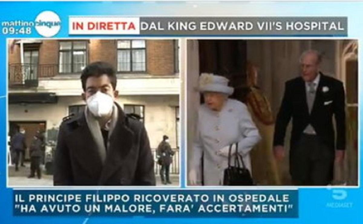 Il Principe Filippo ancora in ospedale |  Regno Unito col fiato sospeso  Le sue condizioni e cosa si è scoperto sulle cause del ricovero