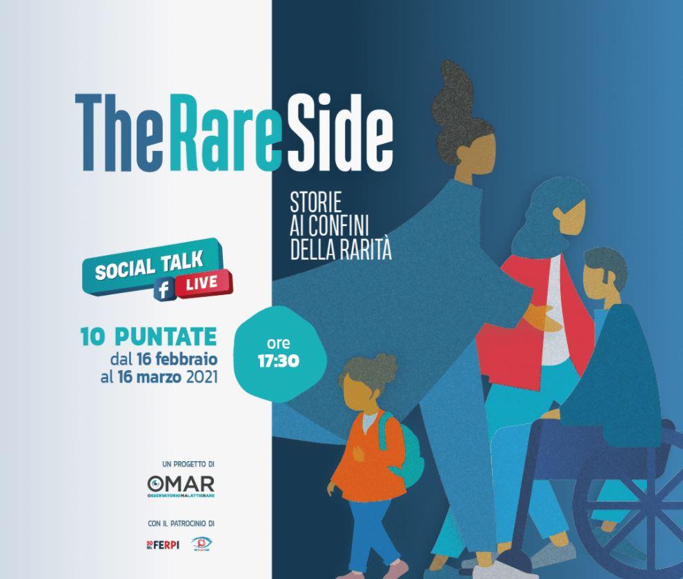 Ecco #TheRAREside |  un format ironico per abbattere gli stereotipi sulle malattie rare
