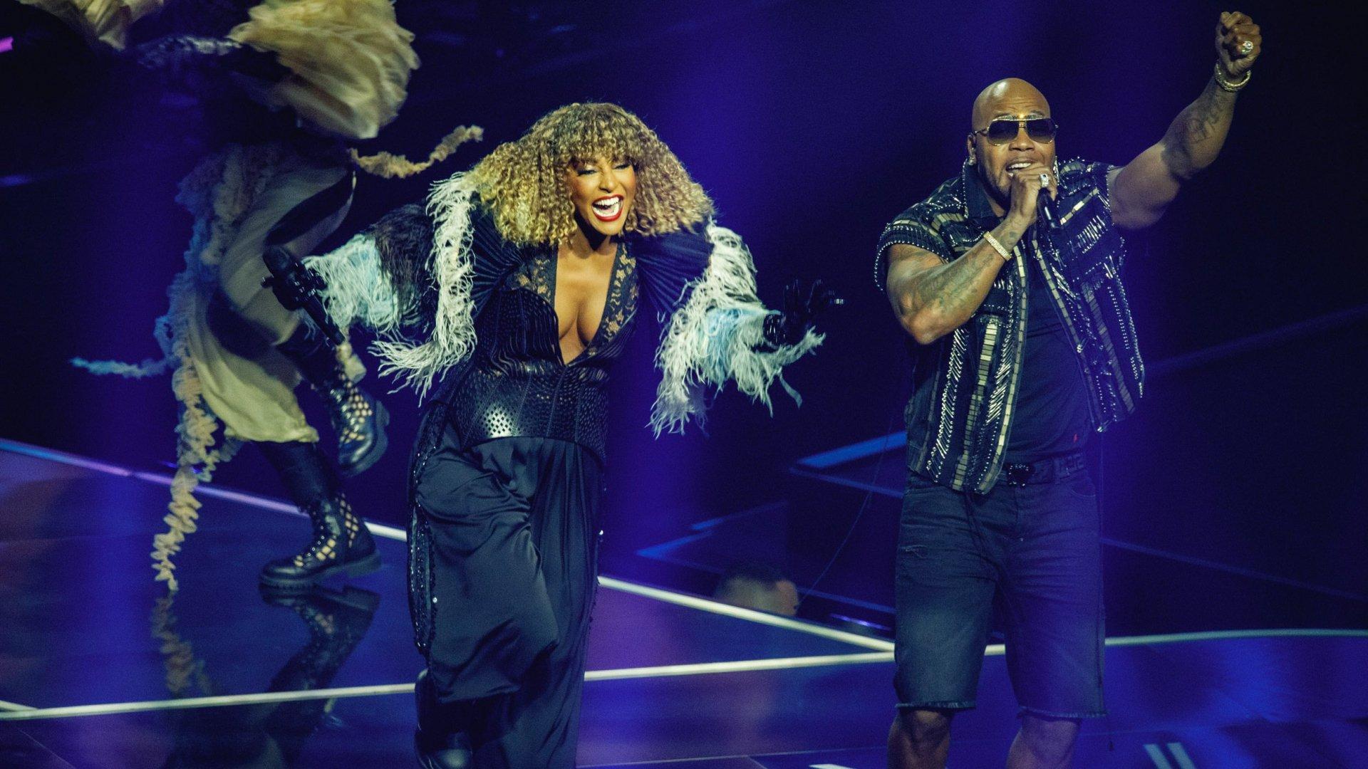 eurovision problema palco senhit
