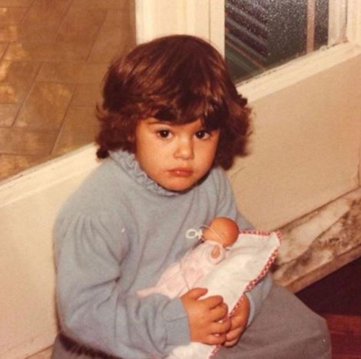 Bianca Guaccero Foto Bambina