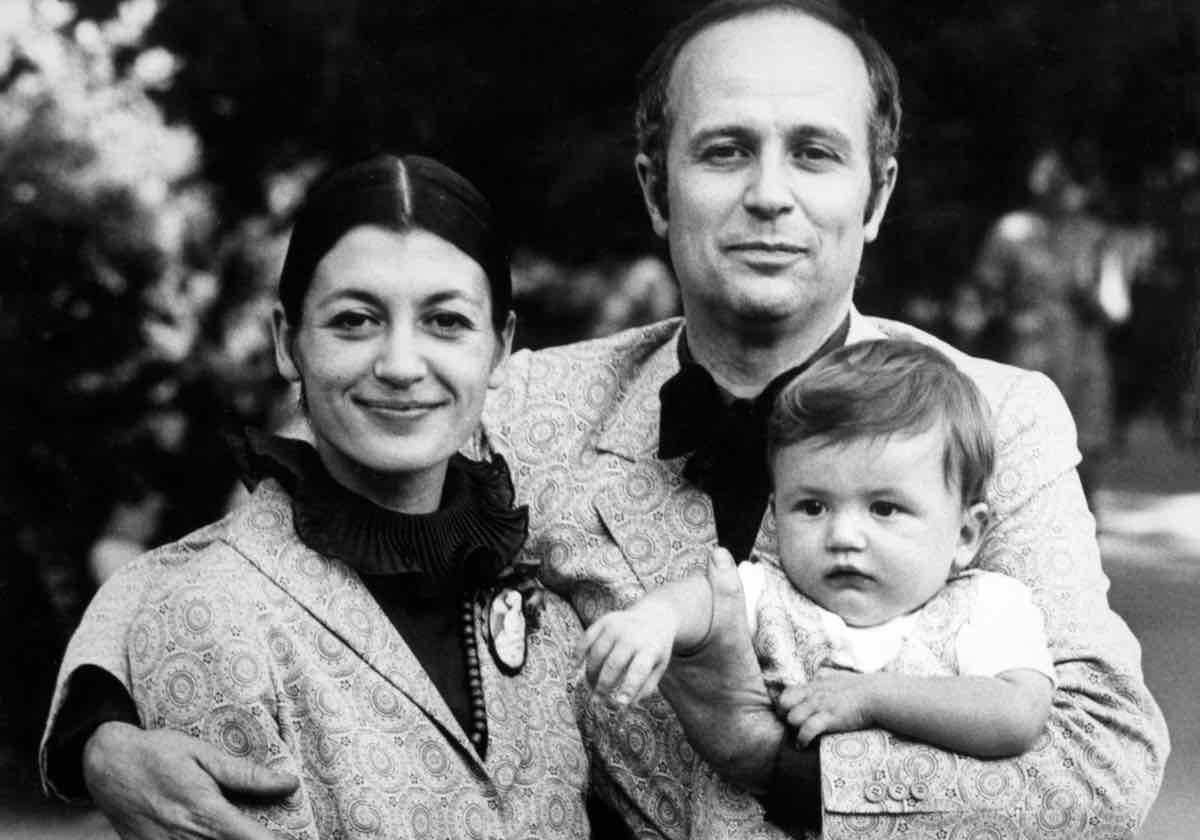 Carla Fracci lutto marito Beppe Menegatti