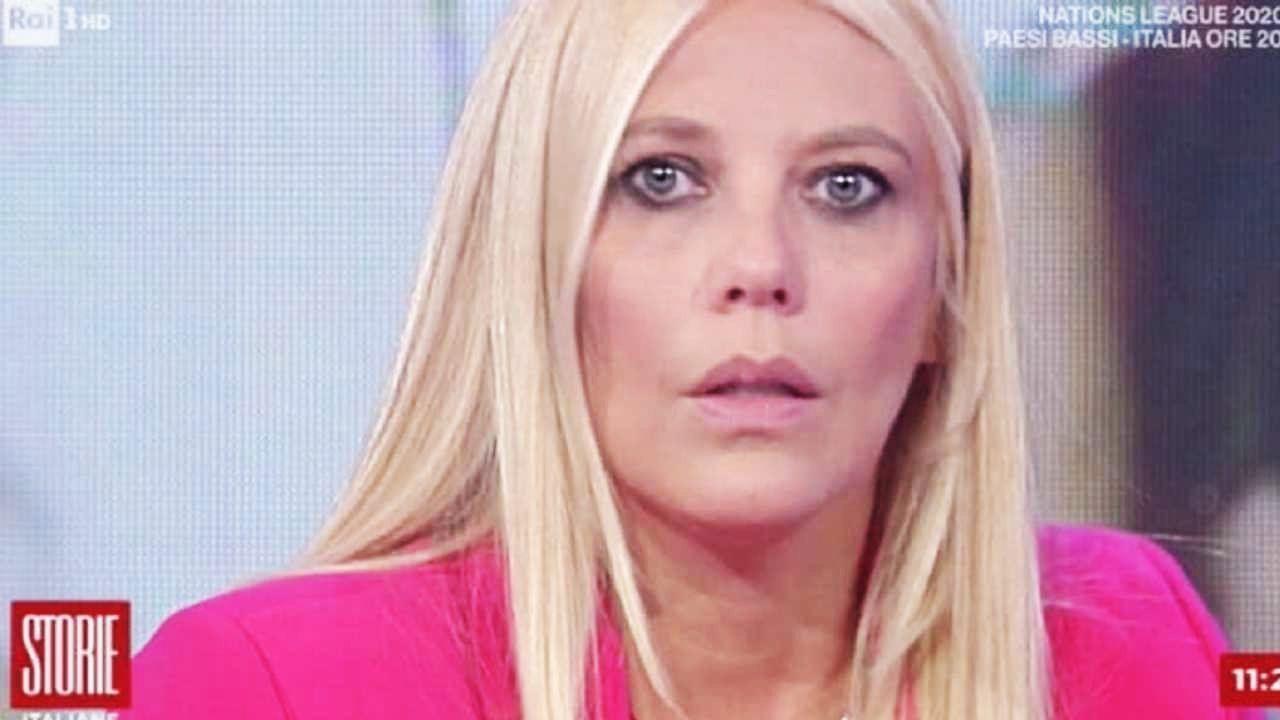 Enrica Bonaccorti piange storie italiane
