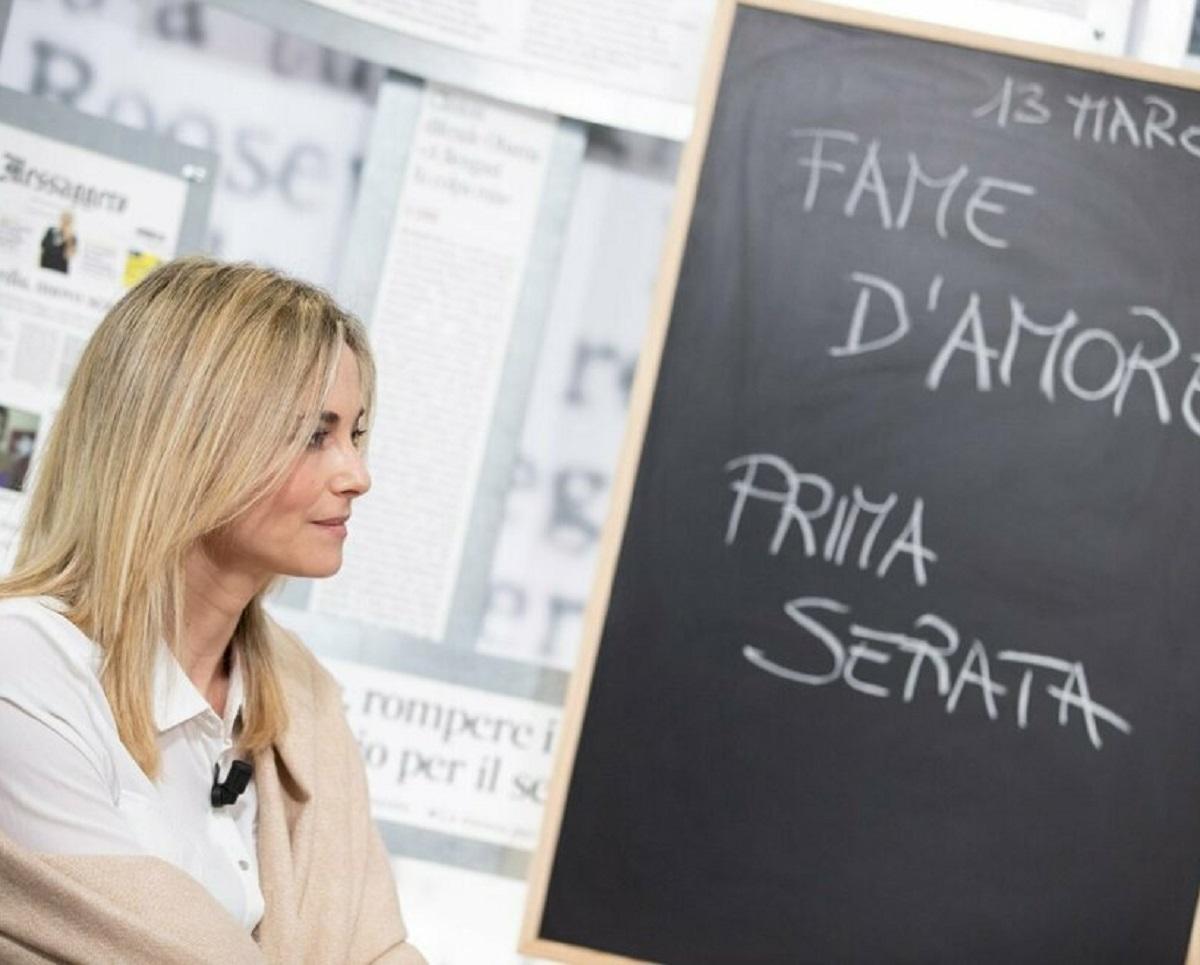 Francesca Fialdini annuncio finale Da noi a ruota libera