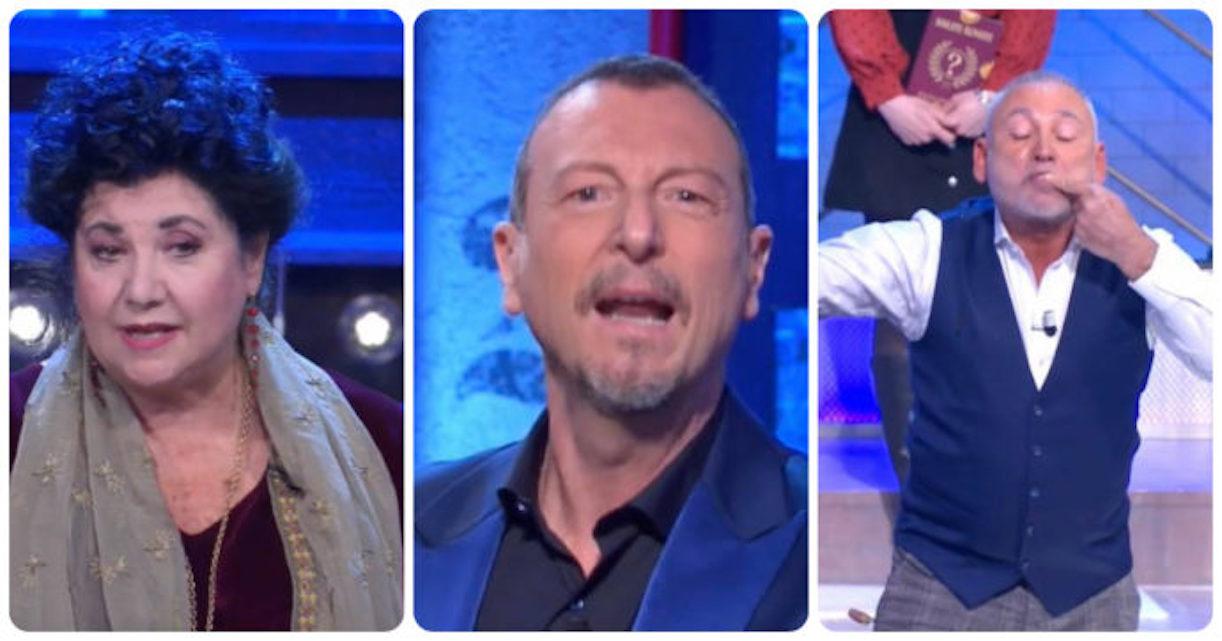 Francesco Paolantoni ferito soliti idioti