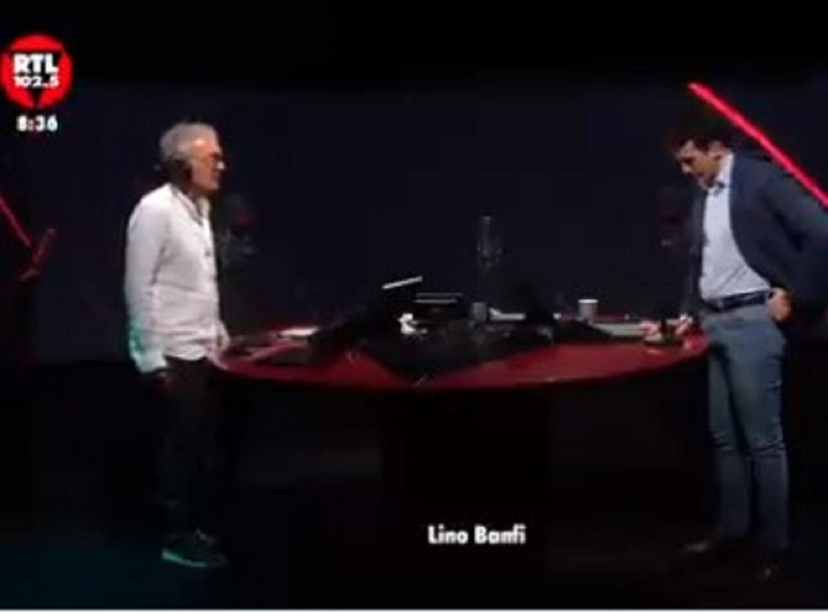 Lino Banfi racconto telefonata Silvio Berlusconi