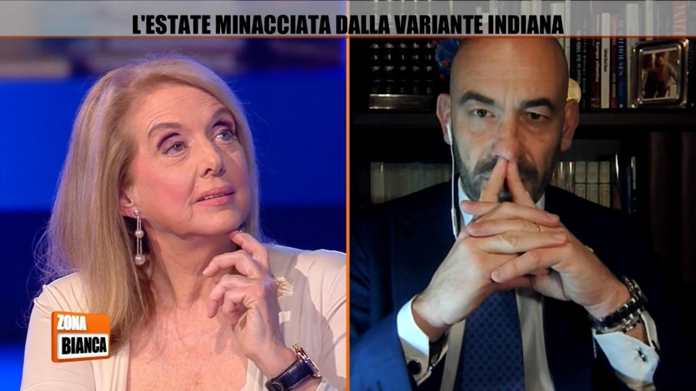 Matteo Bassetti scontro Antonella Boralevi