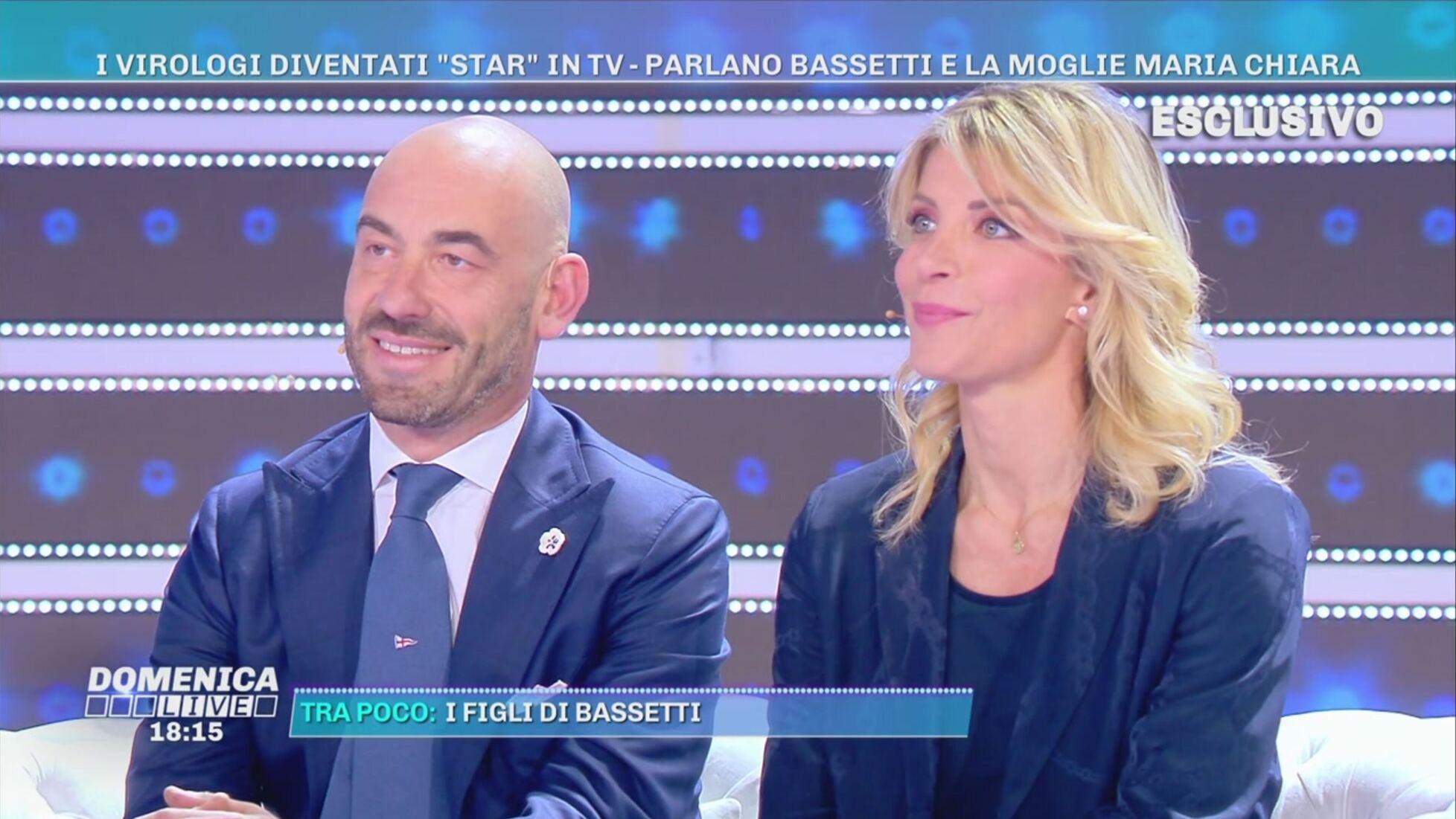 Matteo Bassetti moglie domenica live