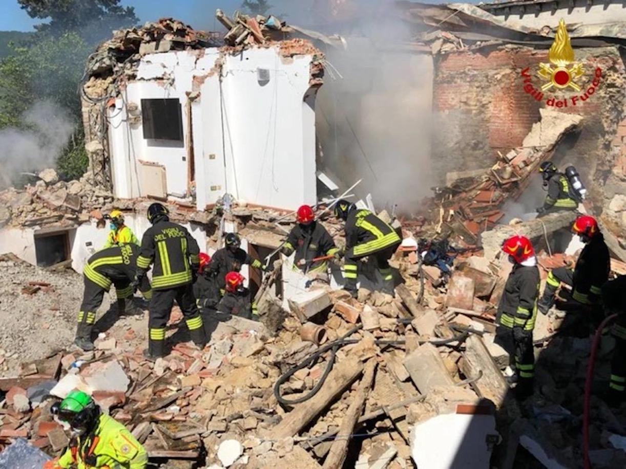 greve in chianti esplosione casa