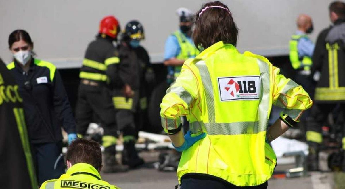 incidente stradale soccorsi