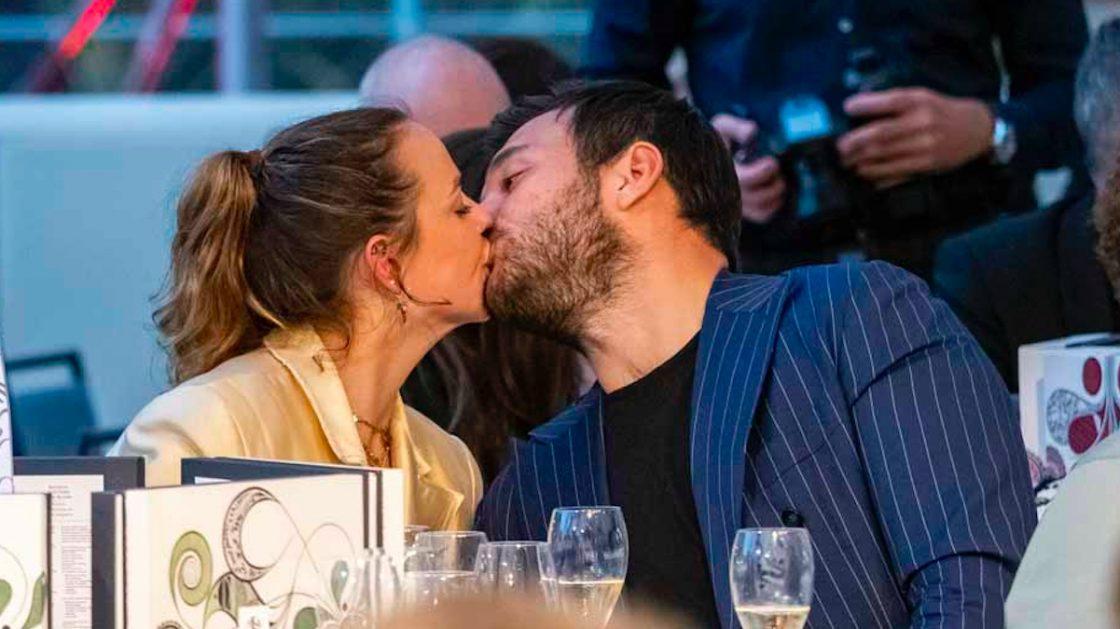 Pauline Ducruet e il fidanzato Maxime all'evento del Principato