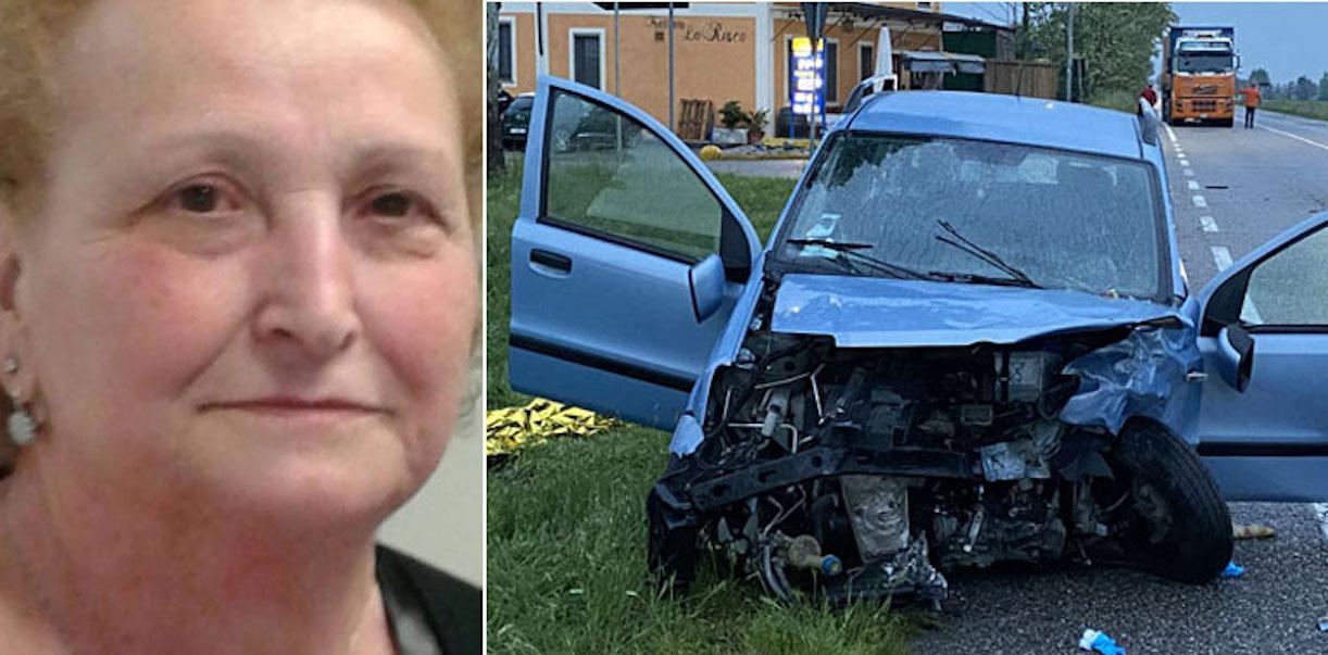 Pierina Stagnoli morta incidente