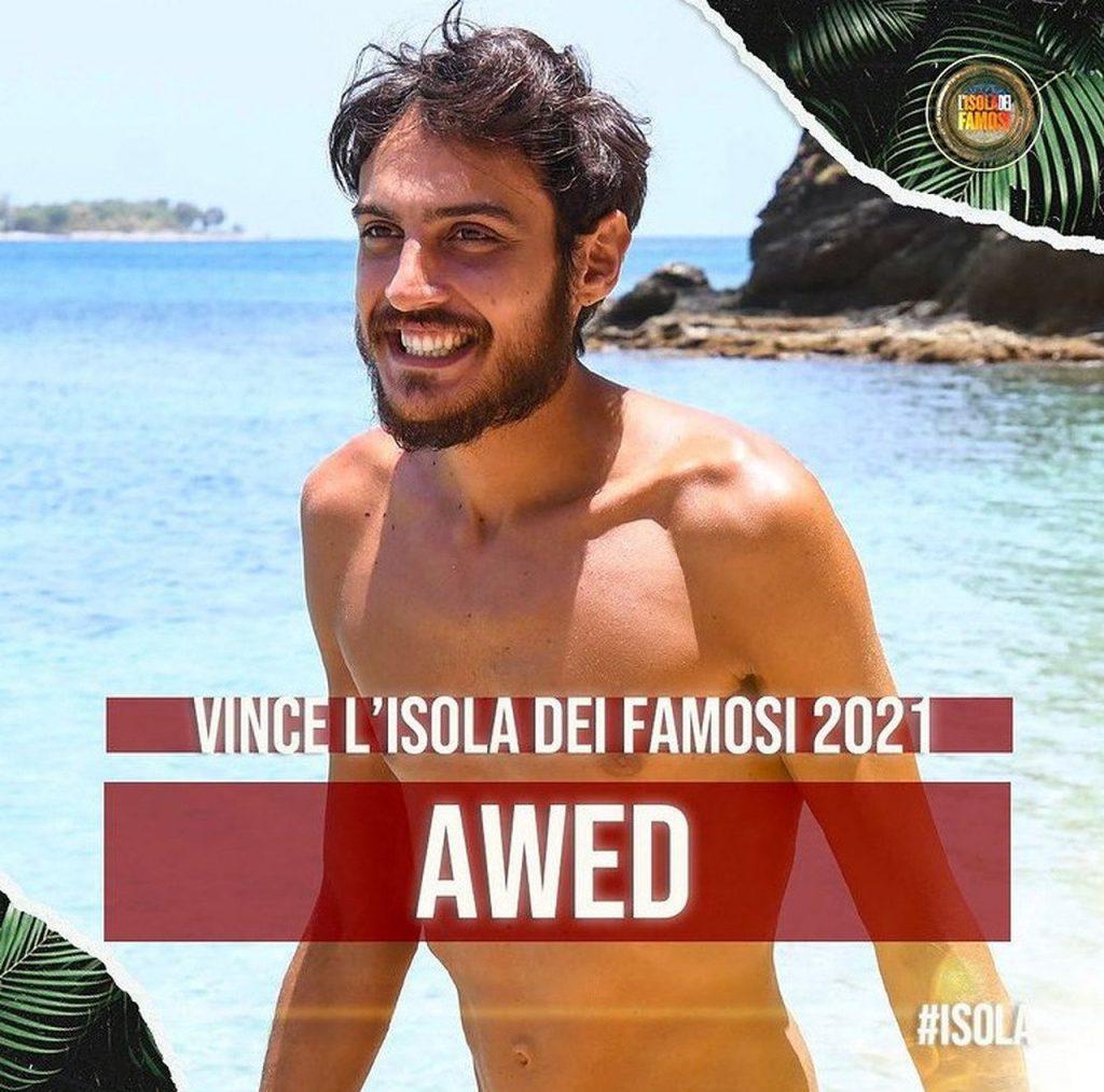 Awed vince isola dei famosi 2021