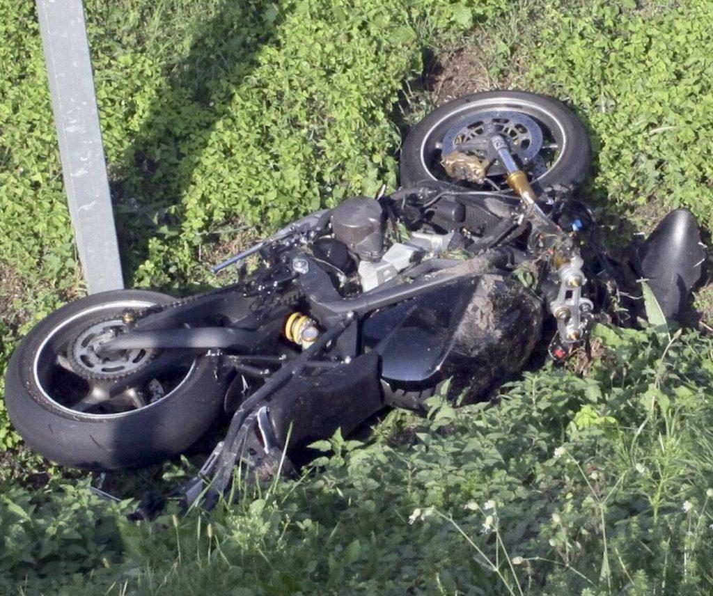 Mirco Marchetti morto moto