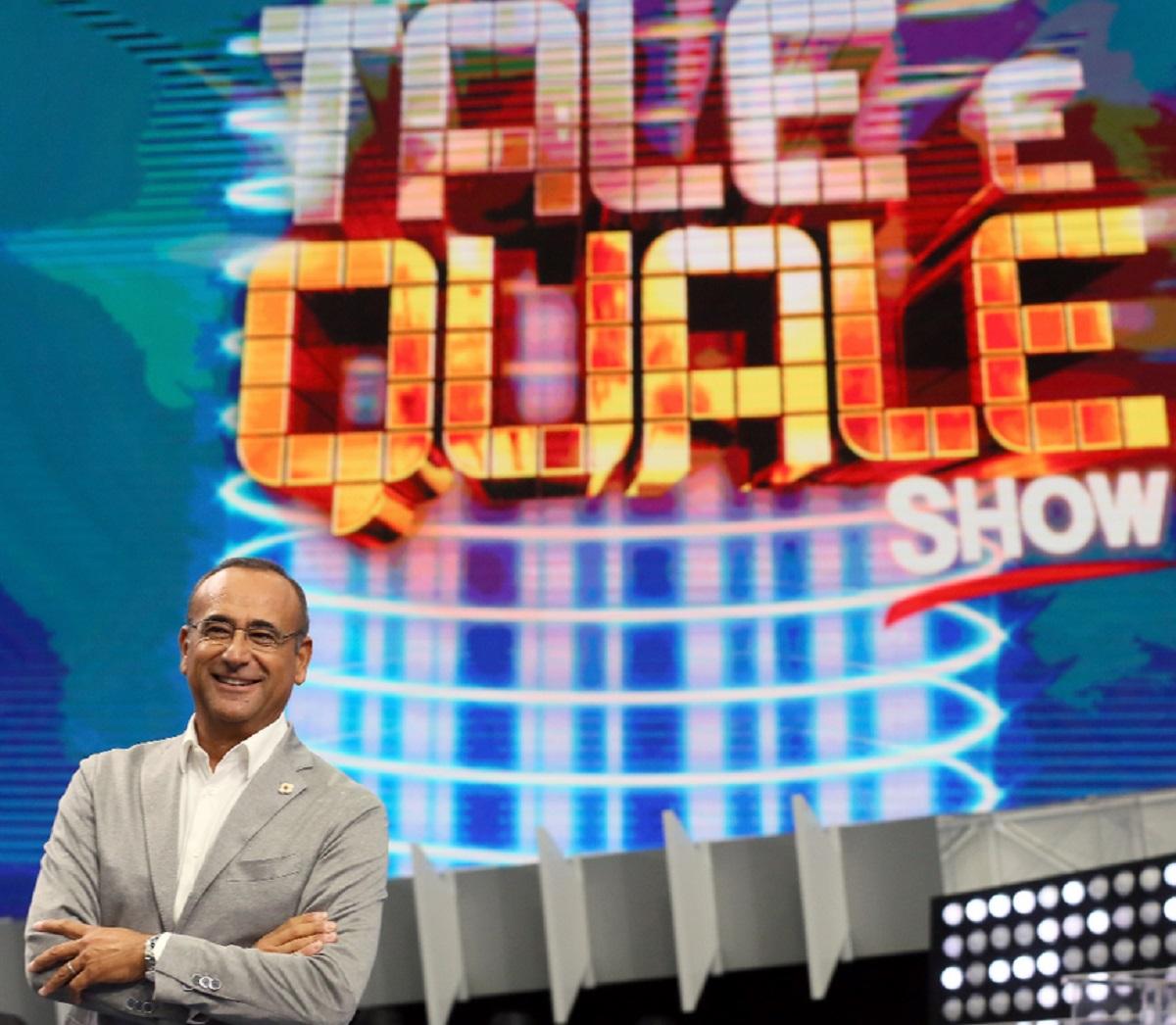 Carlo Conti Tale e Quale show 5 concorrenti conferma