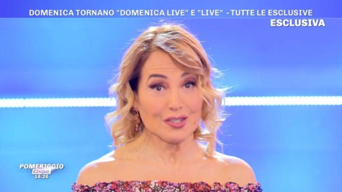 Barbara D'Urso Rompe Silenzio Dopo Voci Ridimensionamento Mediaset