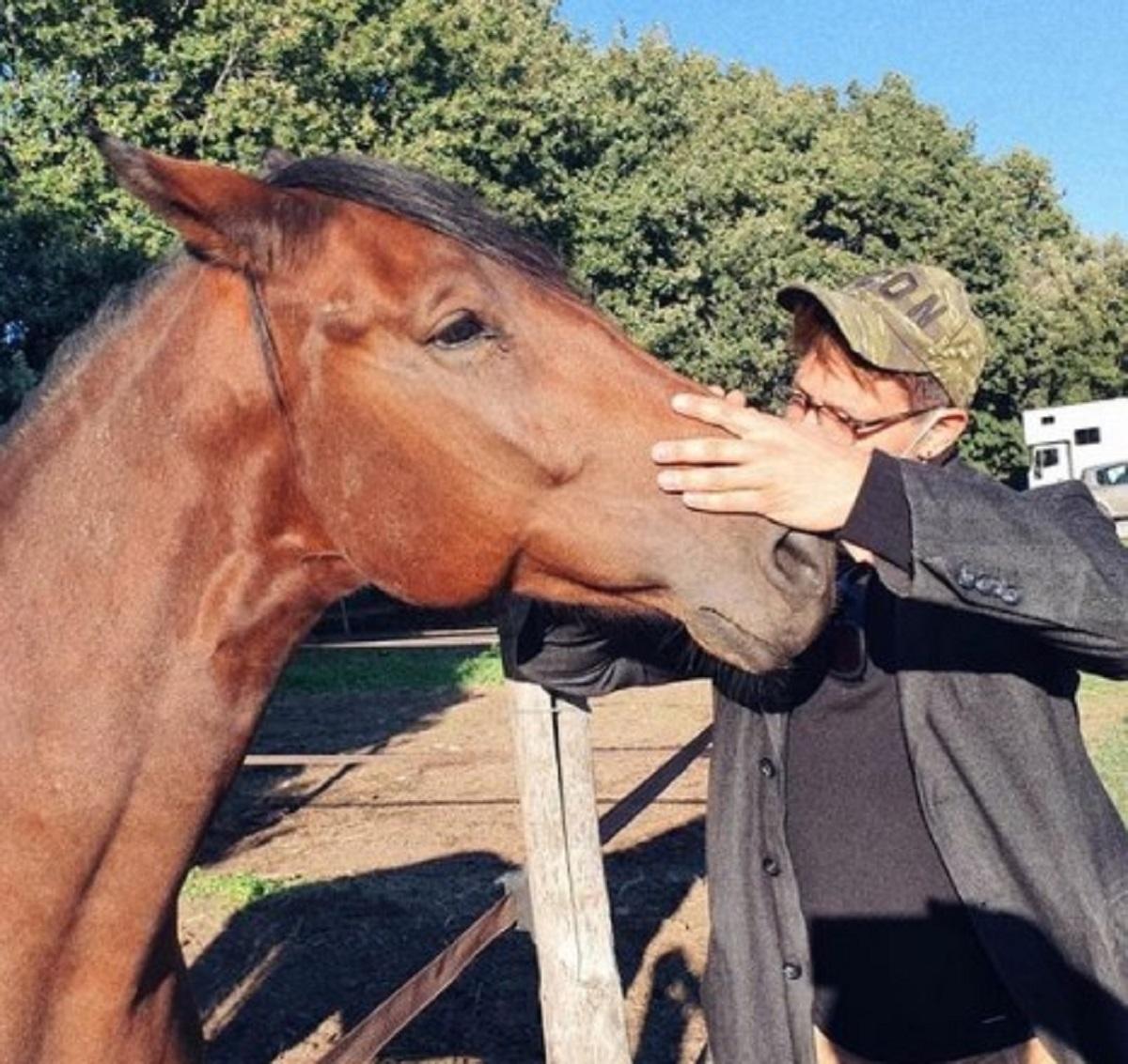 Gabriel Garko lutto cane Aragon annuncio