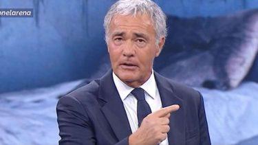 Massimo Giletti Mafia Pianto Scorta
