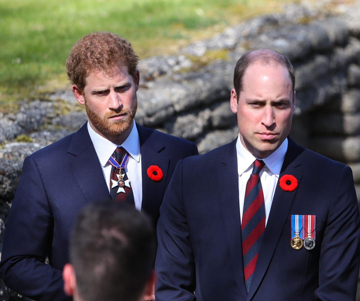 Harry Principe William Litigio 2018 Retroscena Telefono Sbattuto Faccia