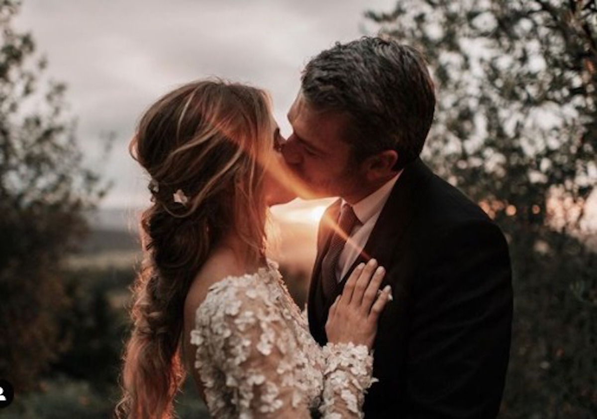 Cristina Marino Luca Argentero foto matrimonio