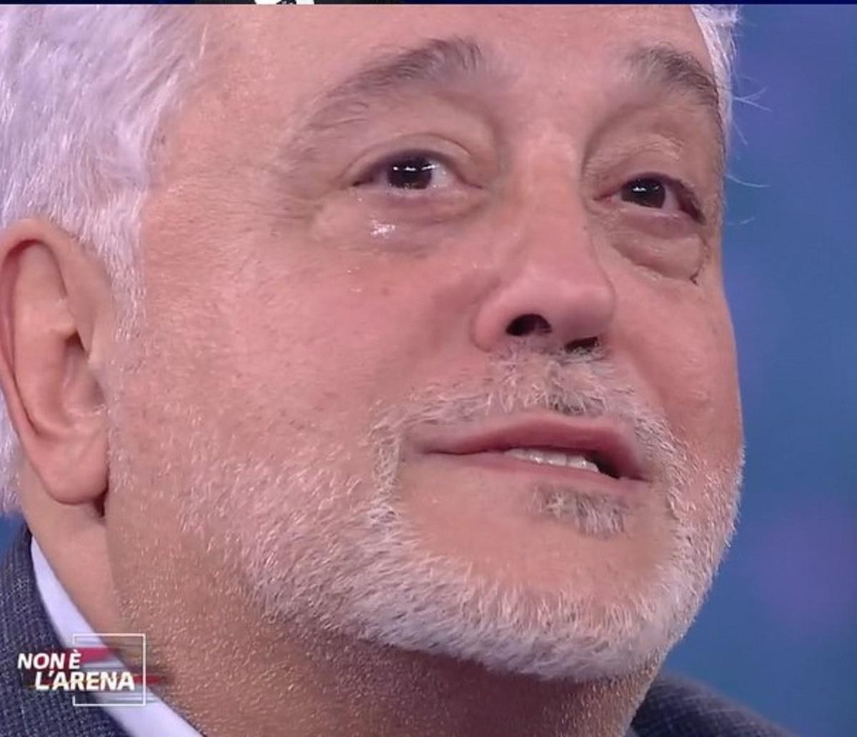 Massimo Tarallo Massimo Giletti Non è l'Arena Aresgate Rosalinda Cannavò