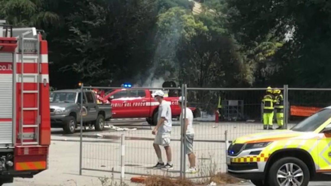 Aereo Turismo Padova Precipita Morto Pilota Carbonizzato
