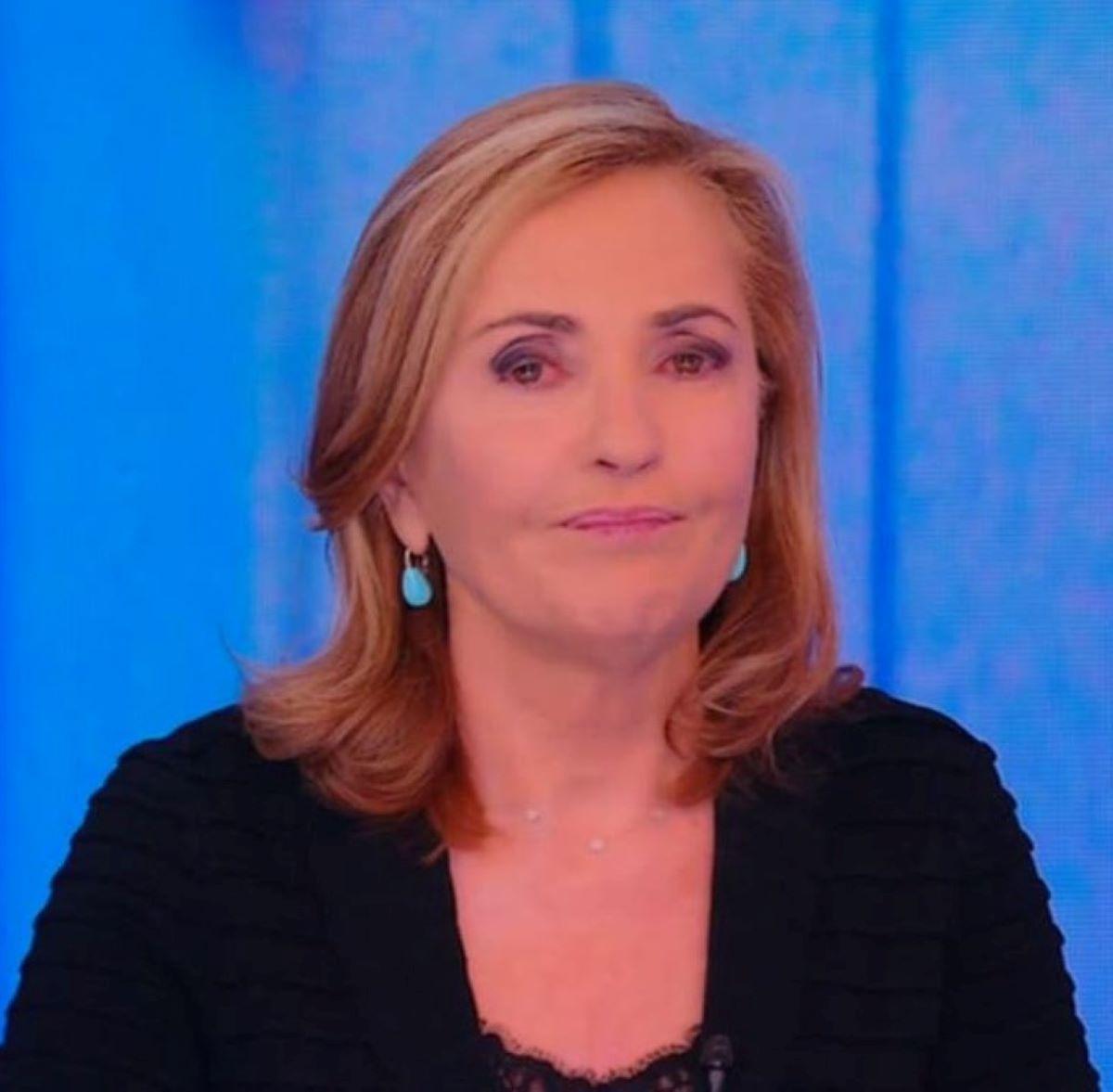 Barbara Palombelli Lacrime Stasera Italia Morte Camilla Canepa