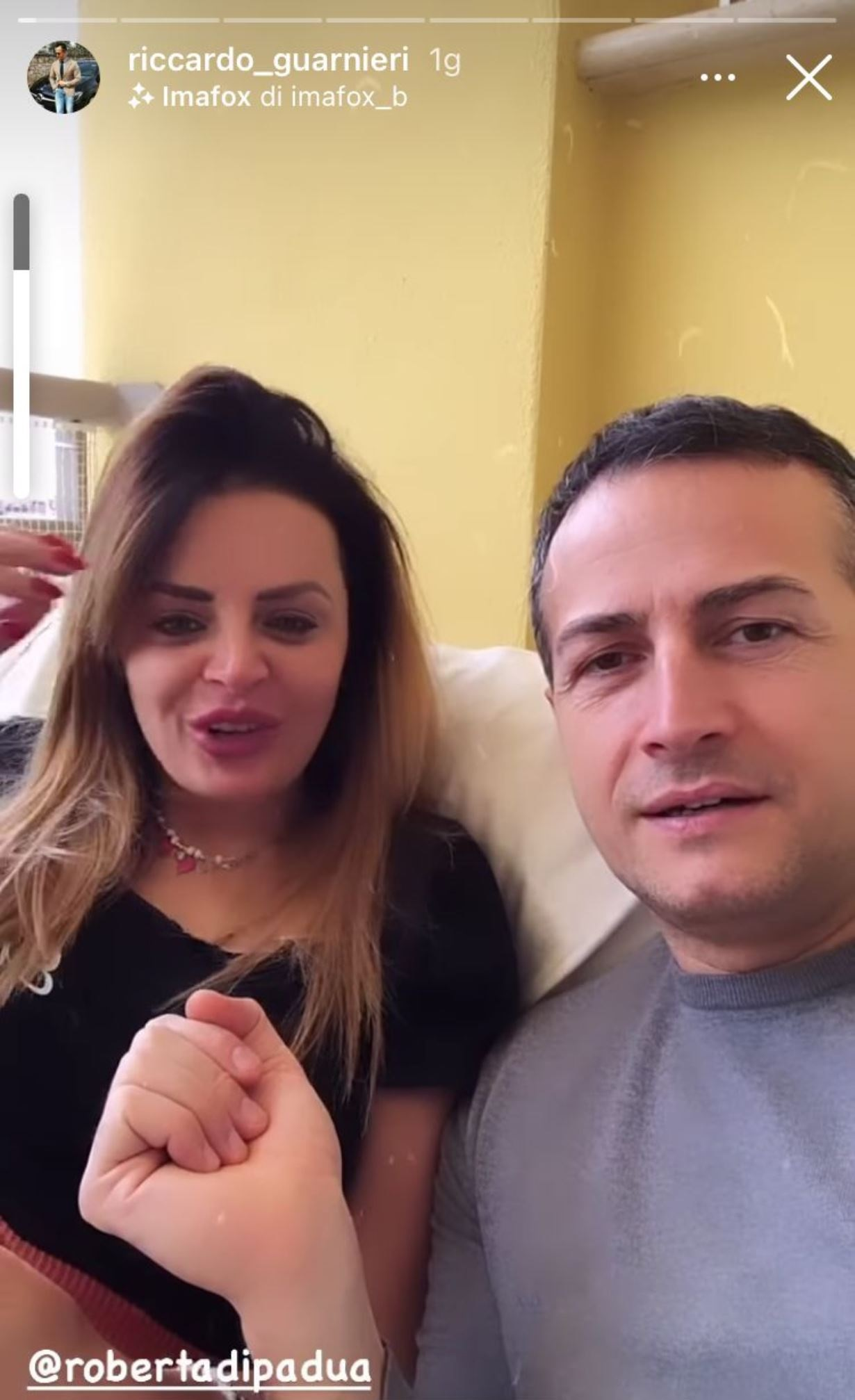 Roberta Di Padua Storia Instagram Ex Marito Giuseppe D'Aguanno