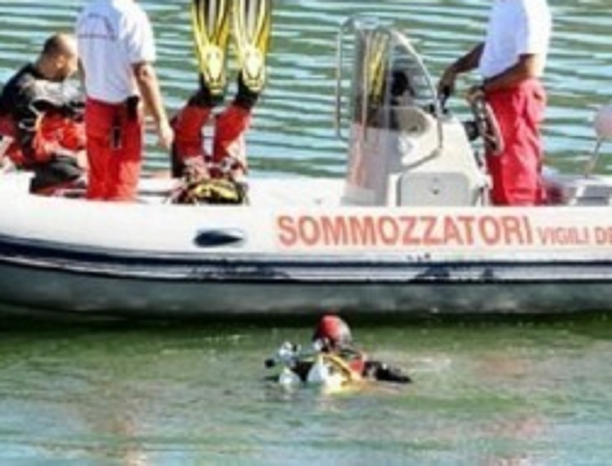 Lago di Garda morto disperso ricerche