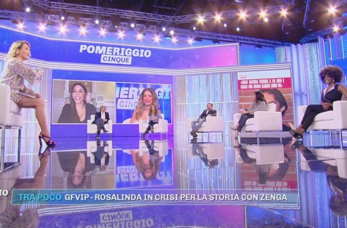 Barbara D'Urso Ridimensionamento Mediaset Elisabetta Gregoraci