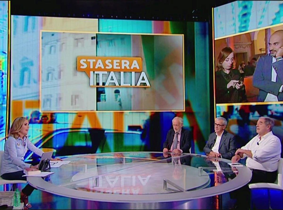 Barbara Palombelli Lacrime Stasera Italia Camilla Canepa Vaccino