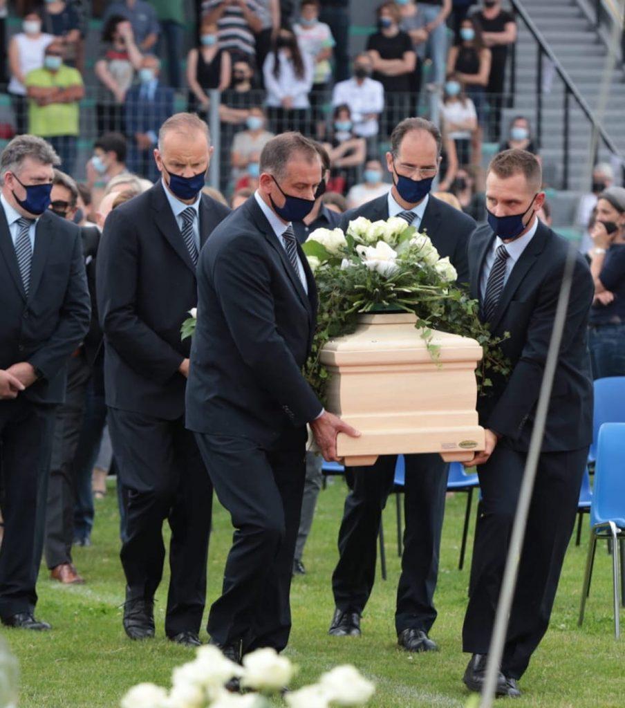 Michele Merlo funerale maria