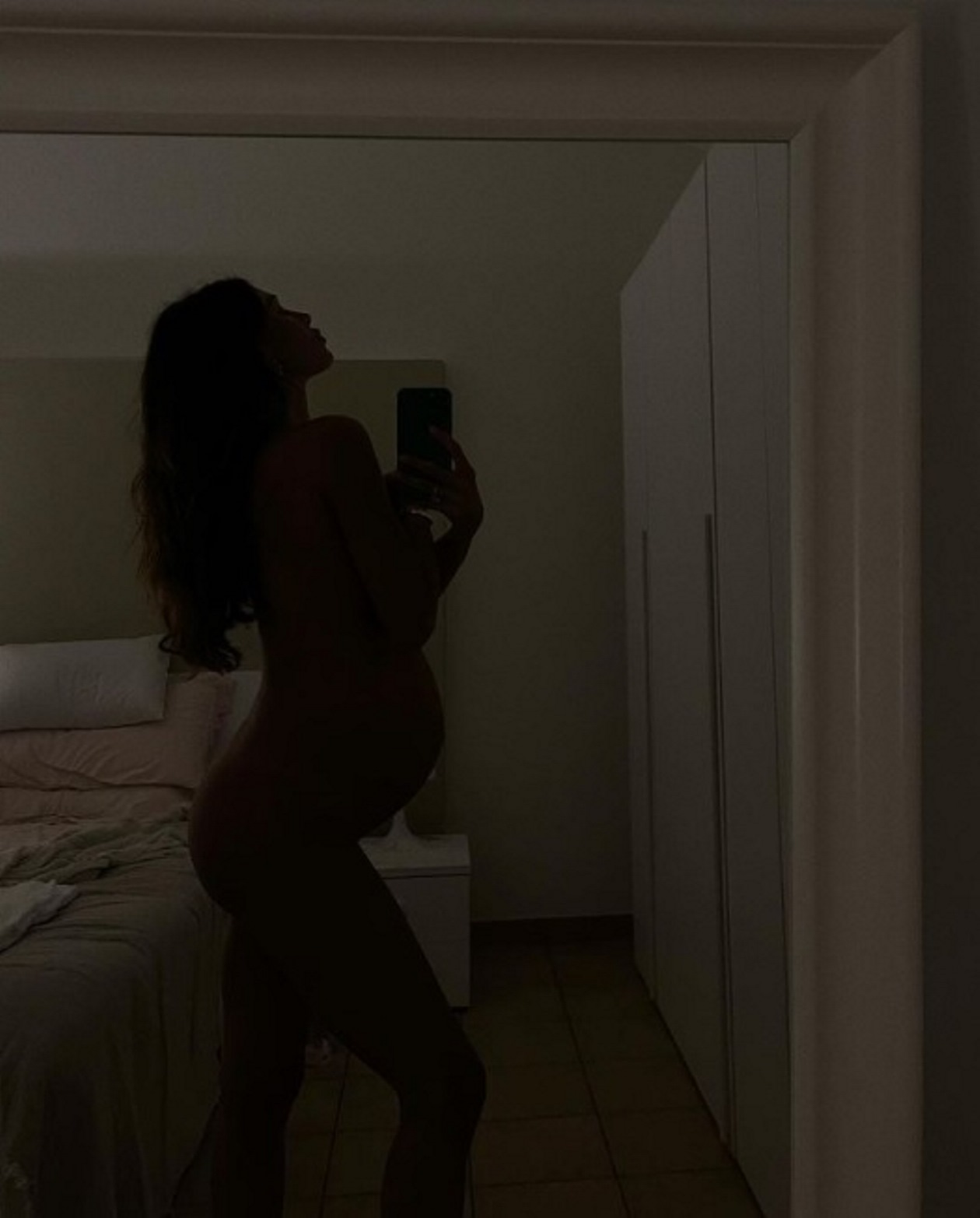 belen rodriguez incinta 33settimane