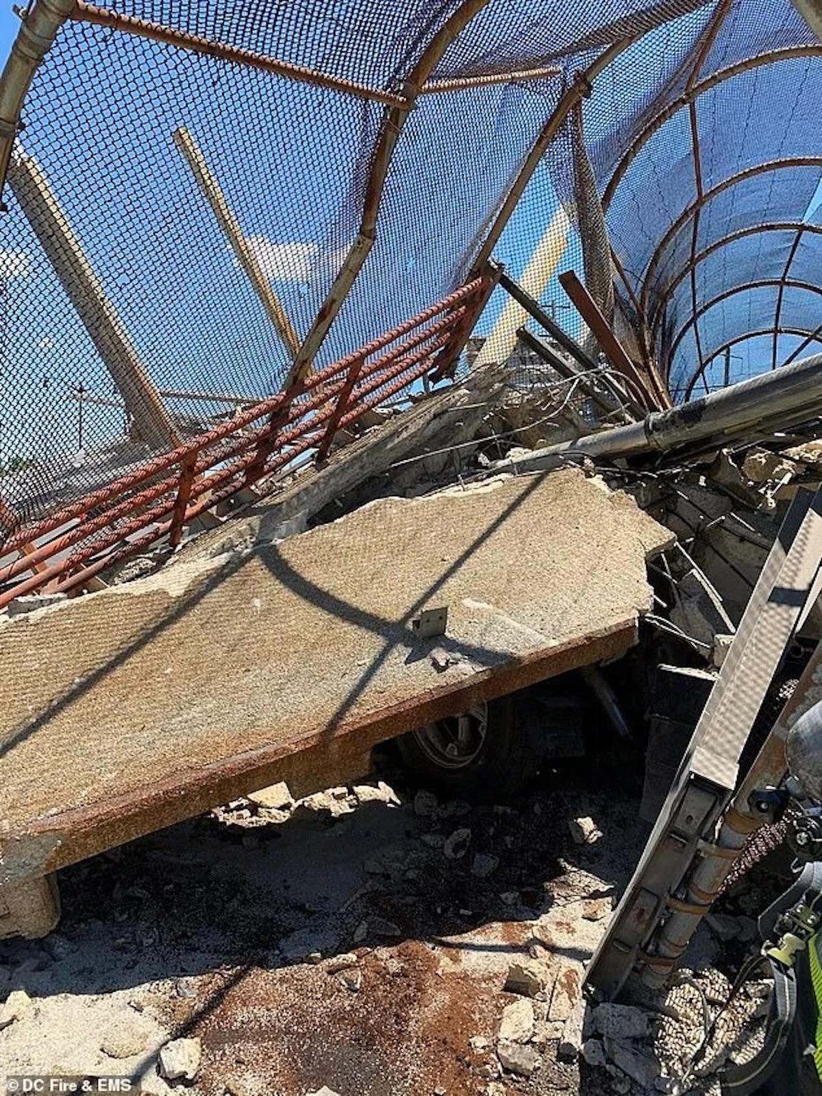 crollo ponte washington