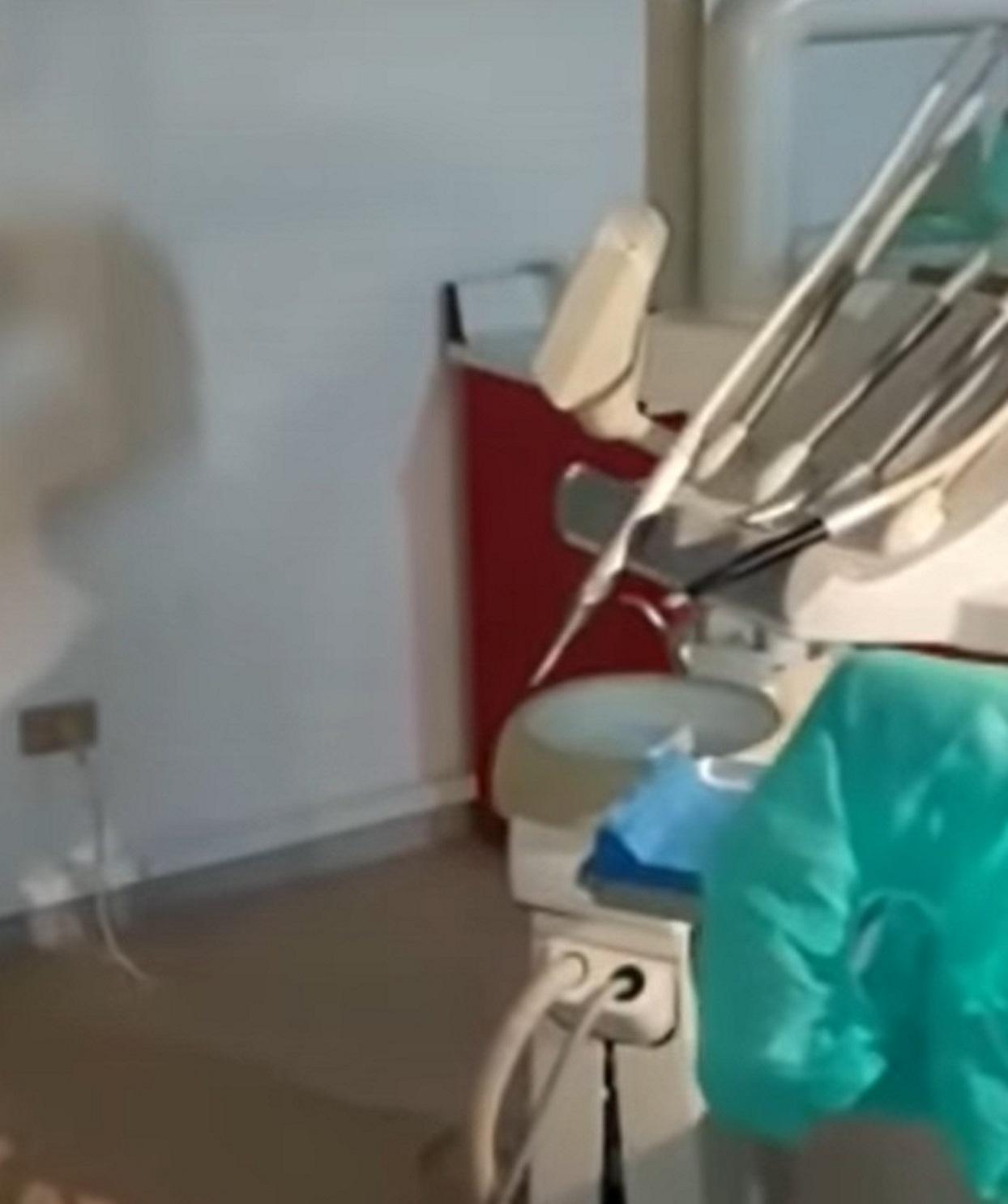 finto dentista finanzieri