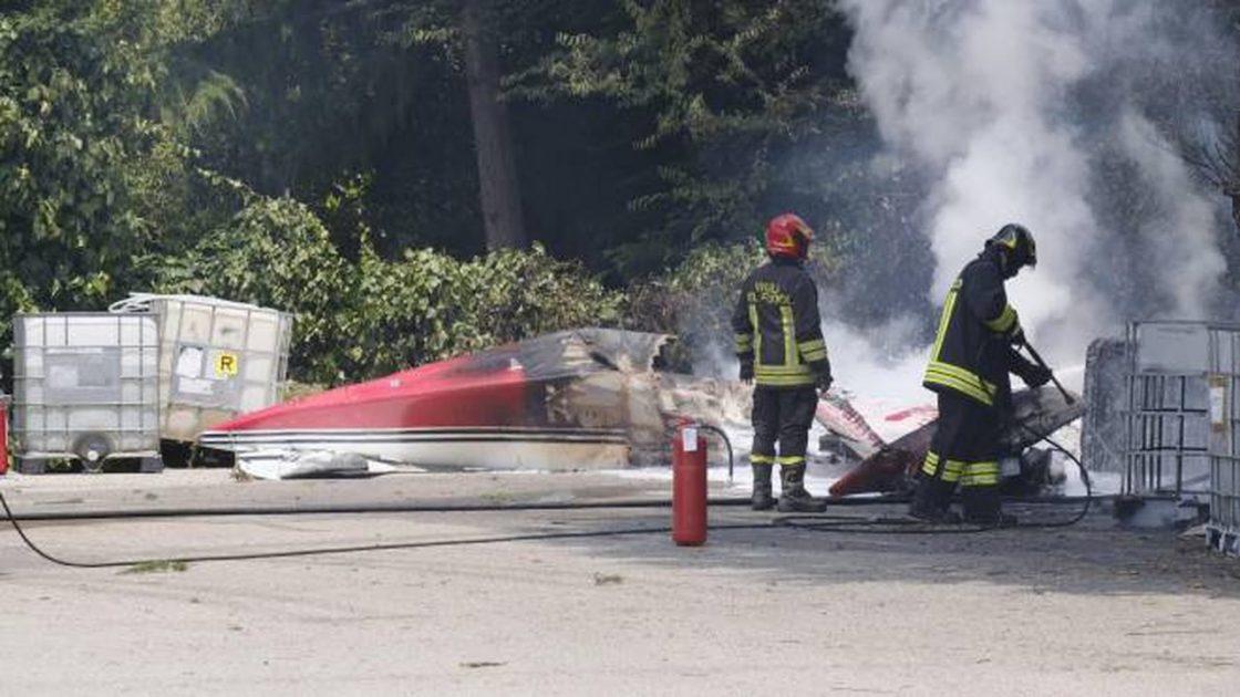 Egidio Gavazzi morto aereo