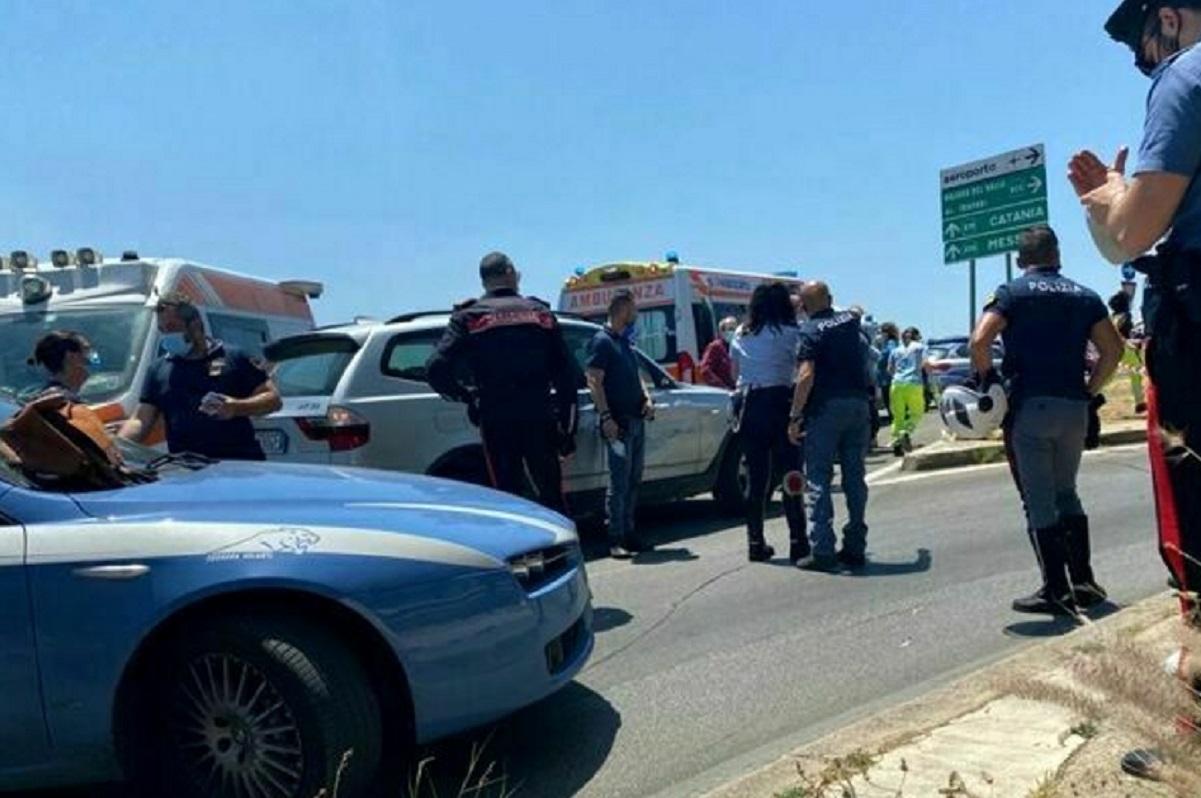 incidente stradale palermo