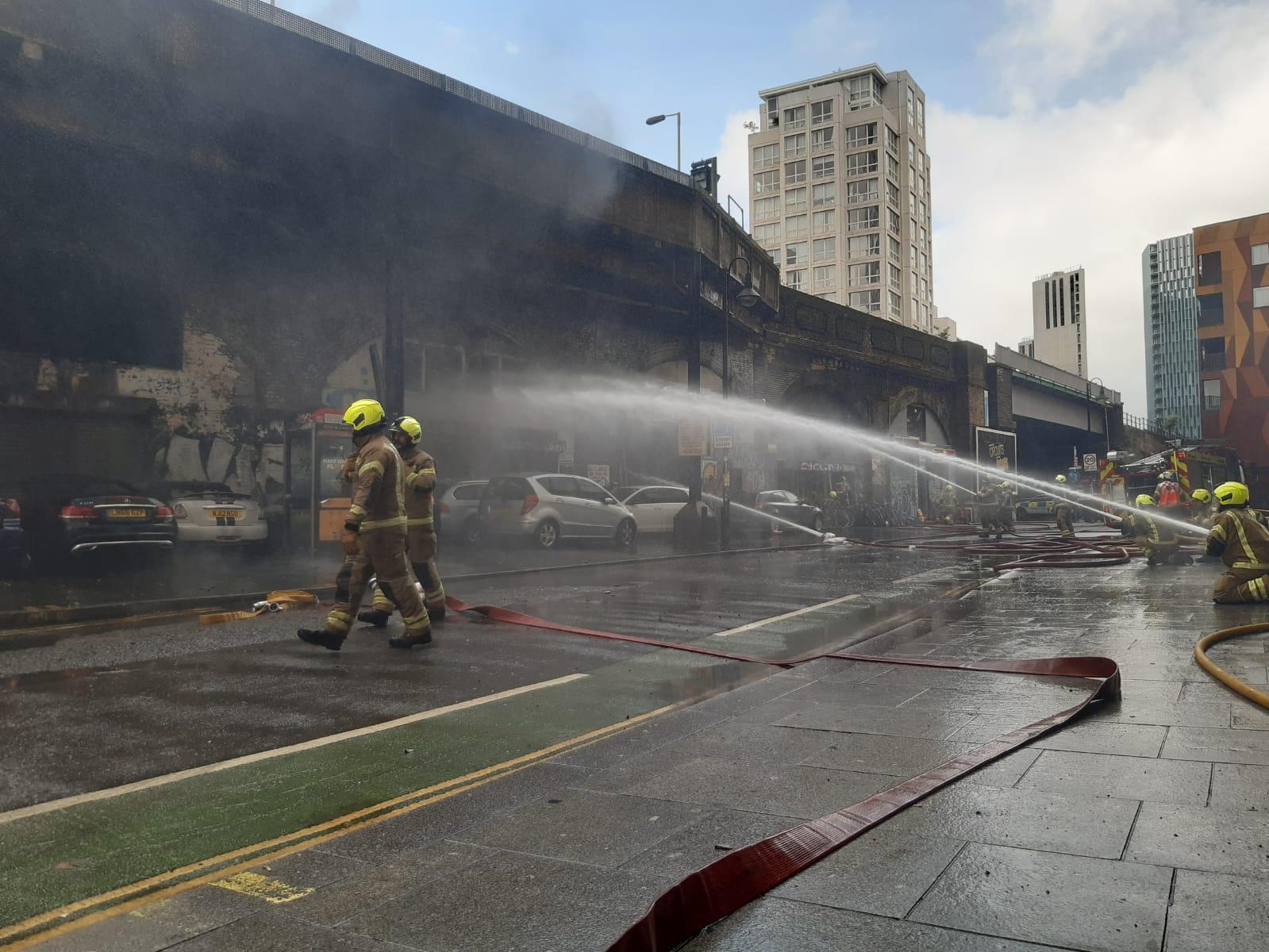 Londra esplosione