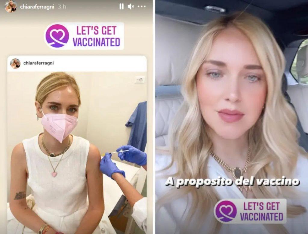 Chiara Ferragni vaccino polemica