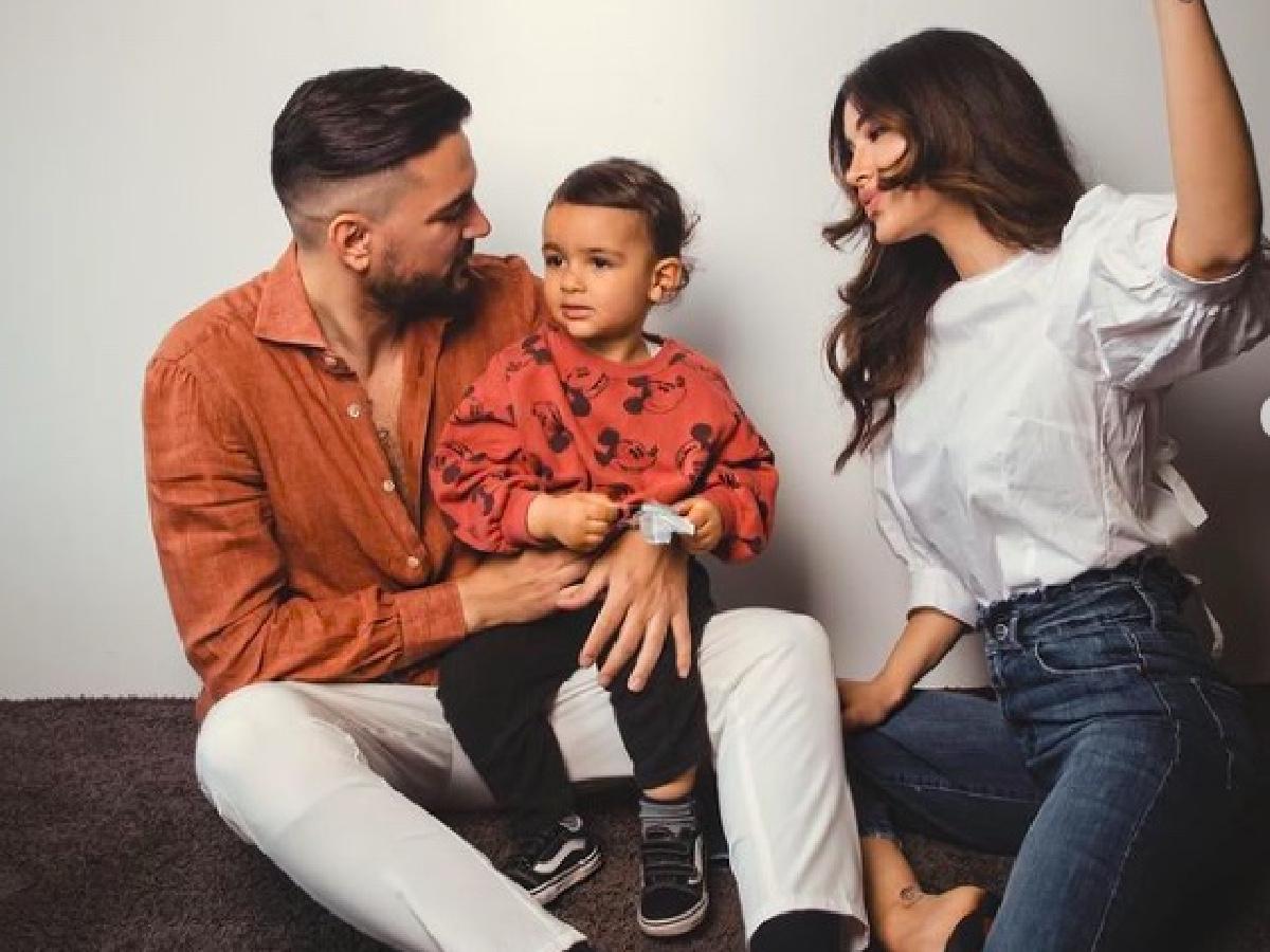 Rosa Perrotta incinta del secondo figlio