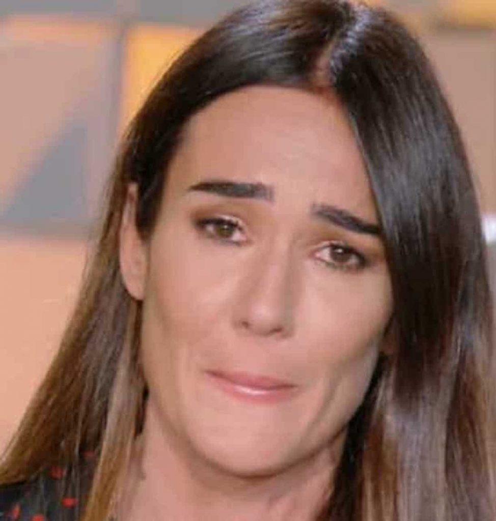 Nancy Brilli verissimo lacrime