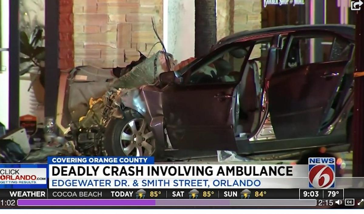 incidente ambulanza auto