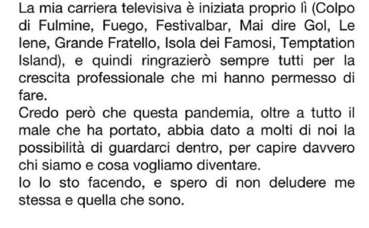 Alessia Marcuzzi addio Mediaset sostituta Fatima Trotta