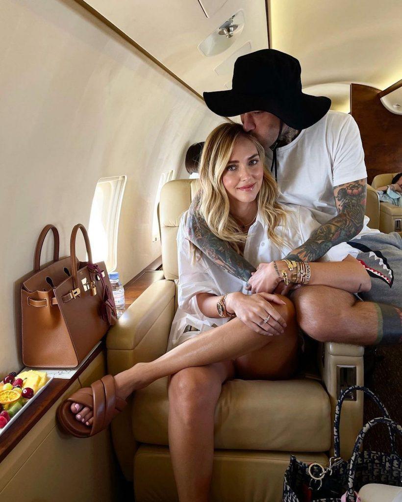 Chiara Ferragni jet privato
