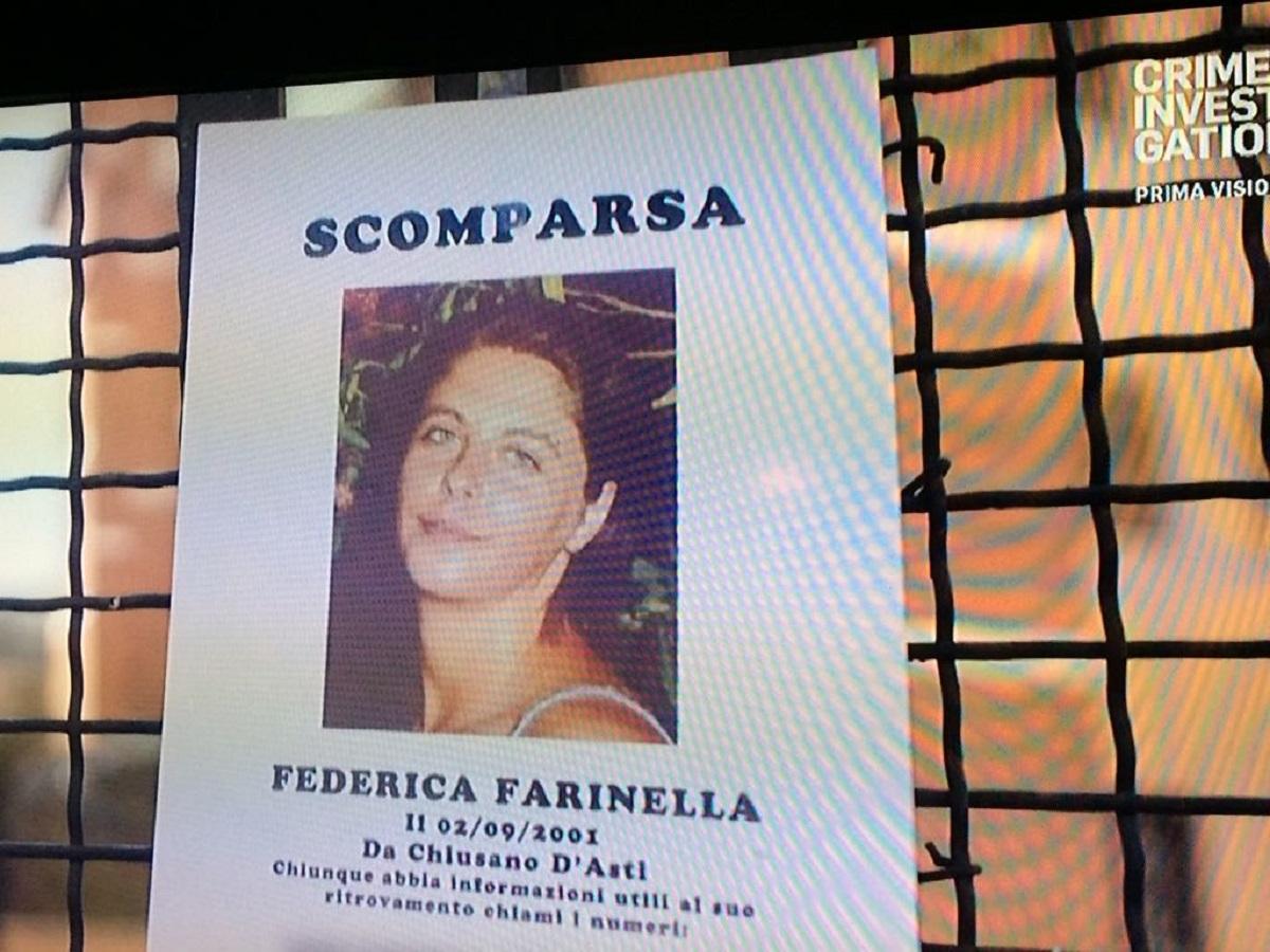 Federica Sciarelli Chi l'ha visto caso scomparsa Federica Farinella