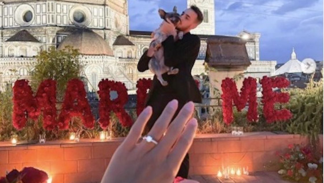 Gaetano Castrovilli sposa rachele risaliti