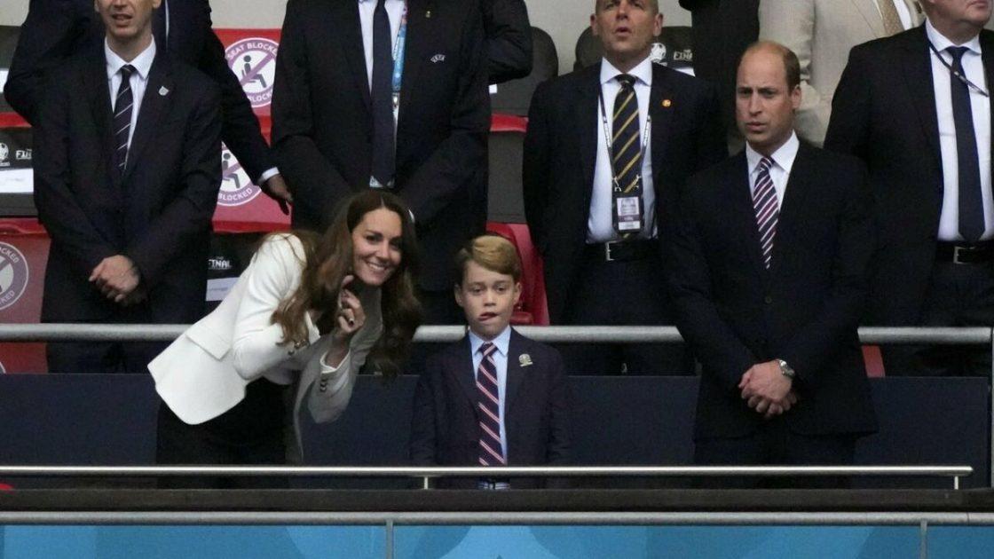 Principe George Maglia Inghilterra No Kate Middleton