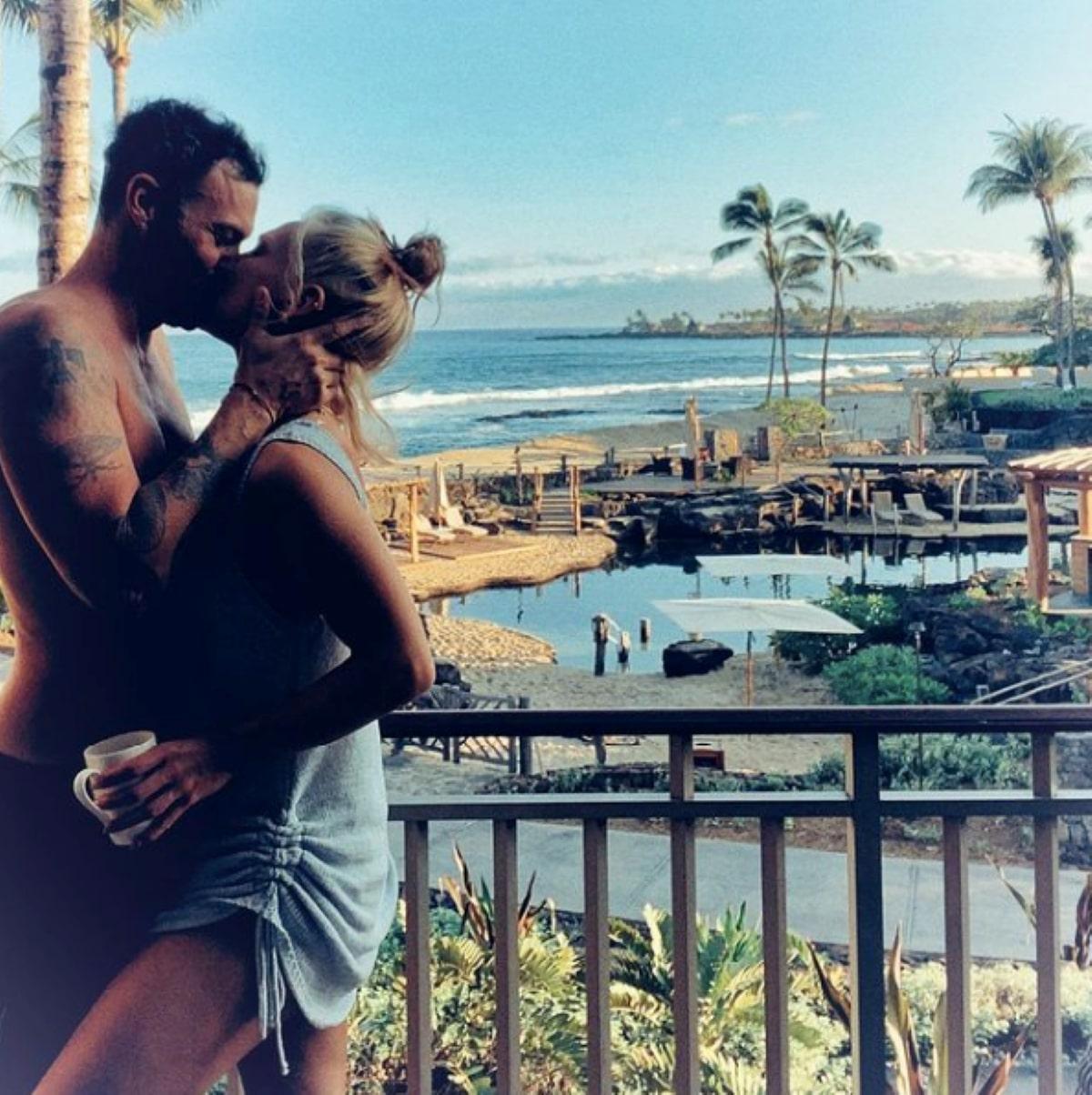 Brian Austin Green Ex Marito Megan Fox Fidanzato Sharna Burgess Foto Coppia