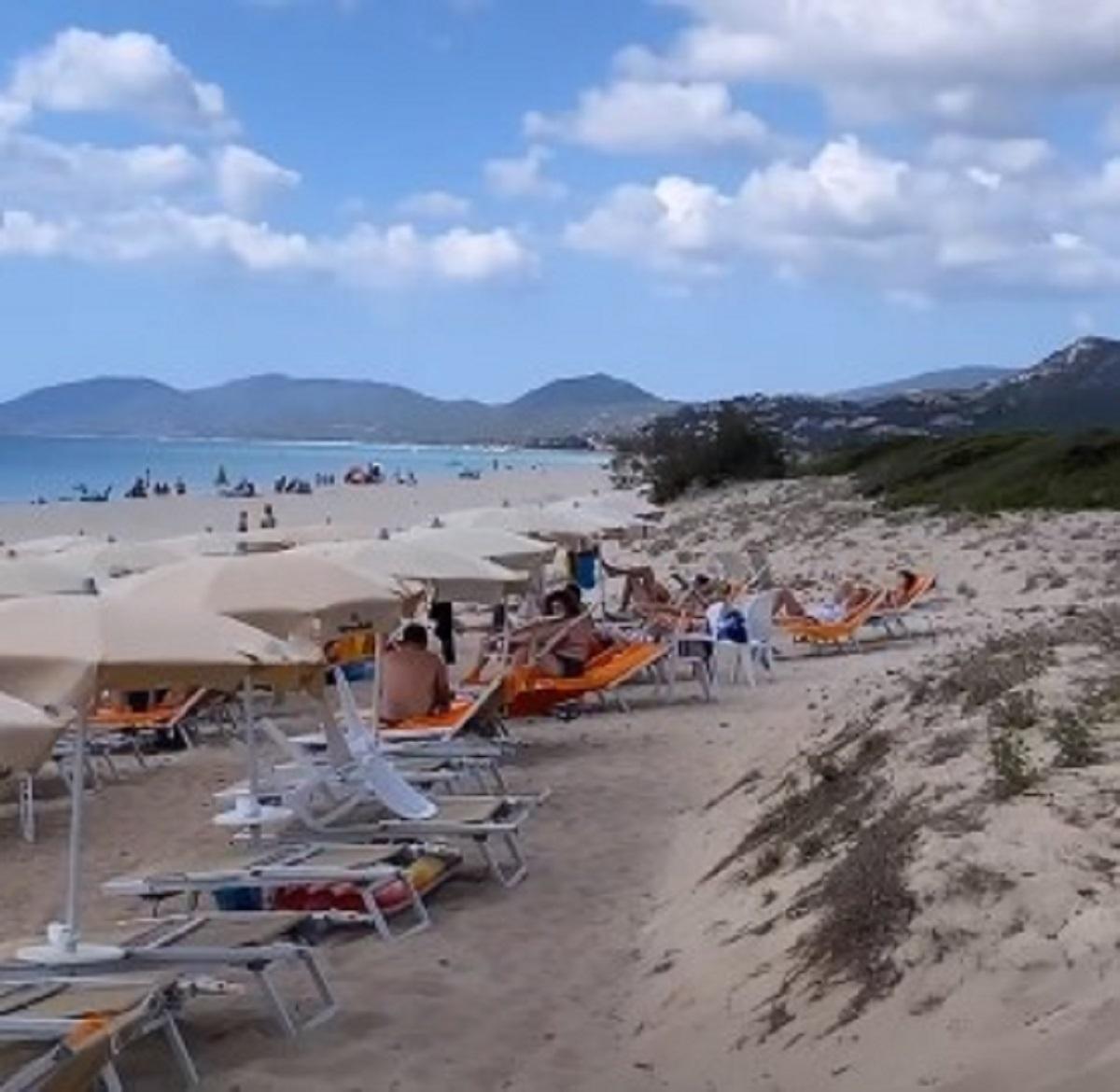 Ida Platano vacanza mare figlio fan foto