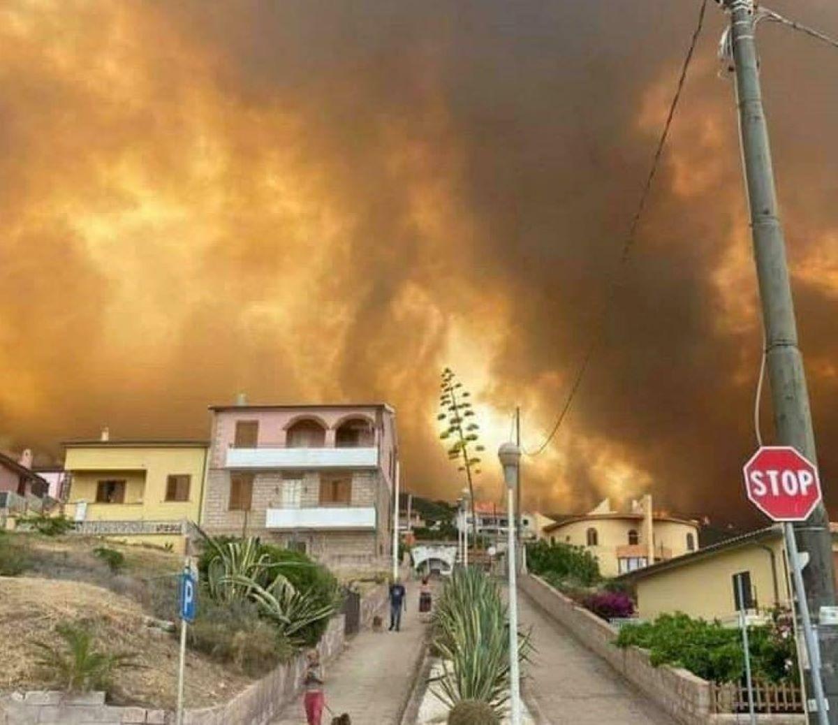 Barbara D'Urso Preoccupazione Incendi Sardegna