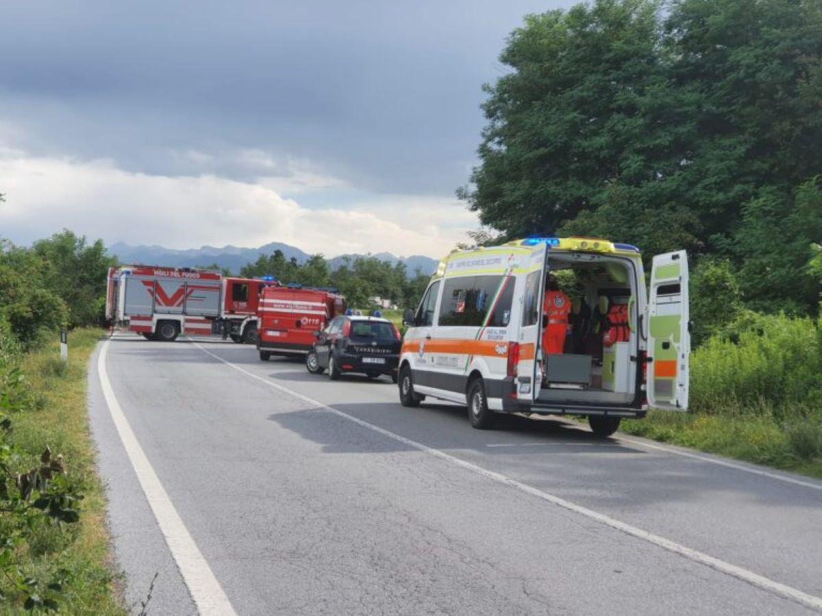 Incidente Fondovalle Tanaro Un Morto Due Feriti Auto Fiamme